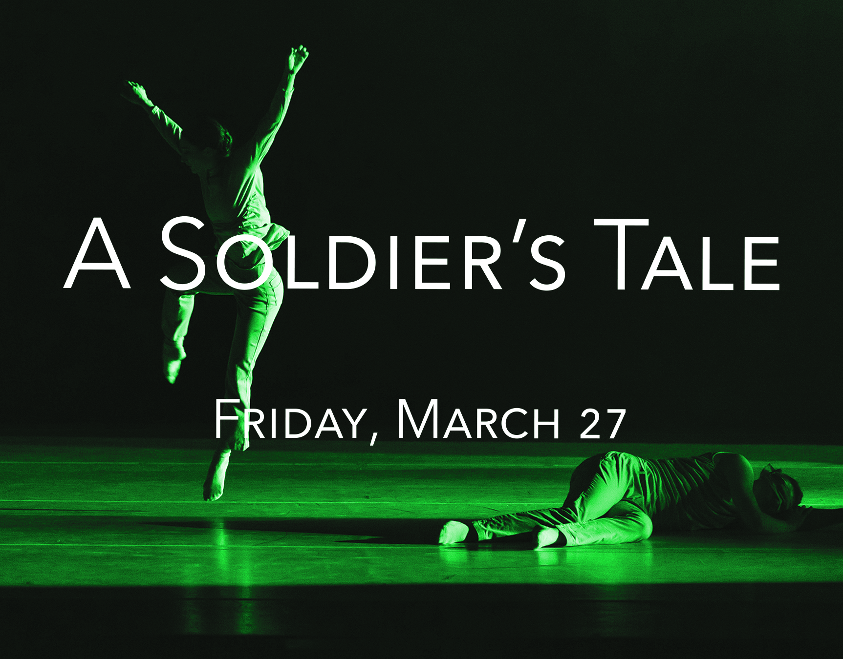 A Soldier's Tale - Friday, March 27 | 7:00pmExperience the synergy between Eisenhower Dance Detroit and the Detroit Chamber Winds and Strings as these two Detroit gems perform together at the iconic DIA. This exciting collaboration reimagines Stravinsky's famous post-WWI score, A Soldier's Tale, with a contemporary take on the classic story of greed, passion, and death.FREE EVENTInvitation only VIP Reception during intermissionDetroit Institute of the Arts5200 Woodward Ave, Detroit, MI 48202