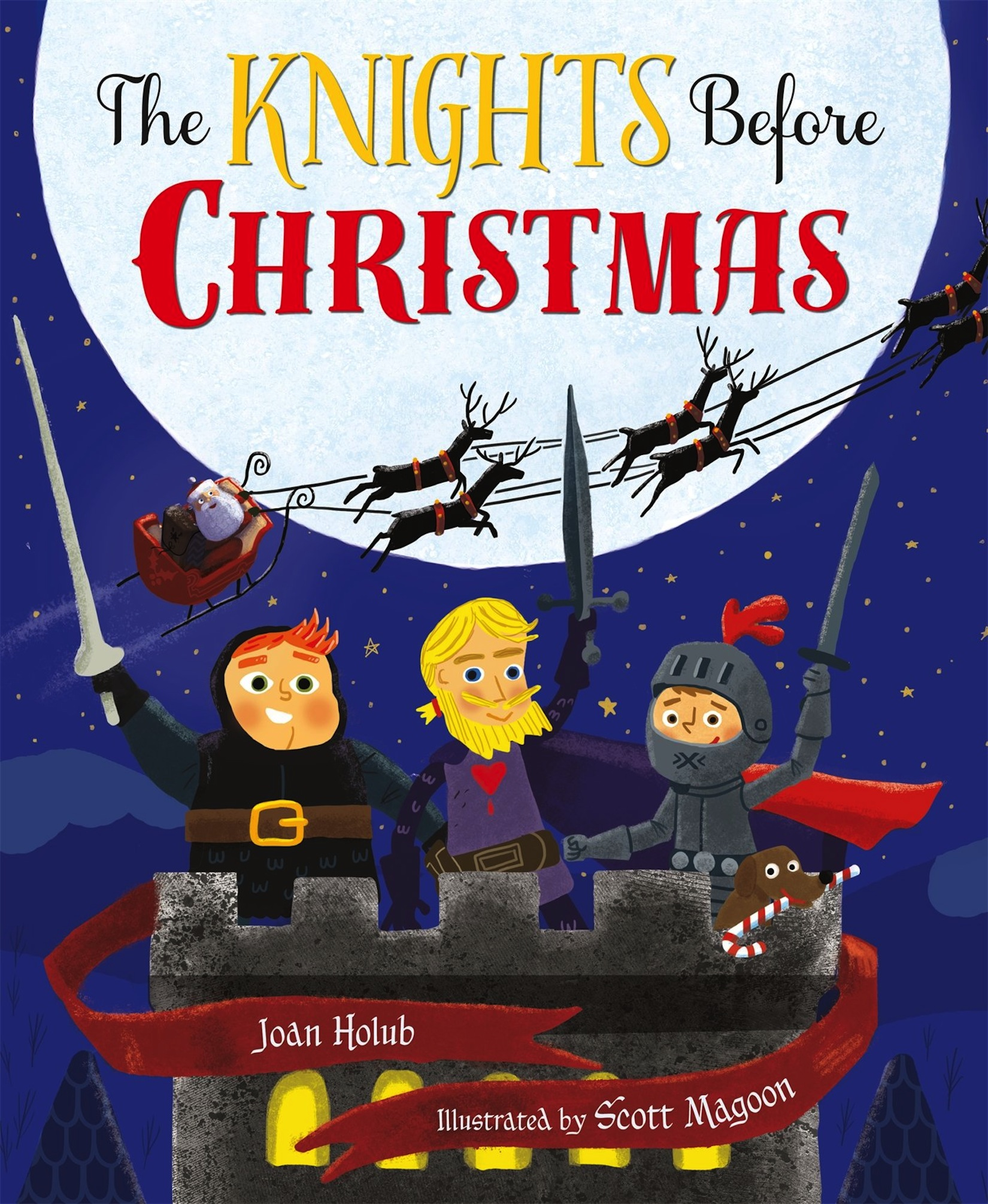 The Knights Before Christmas Joan Holub Scott Magoon image.jpg