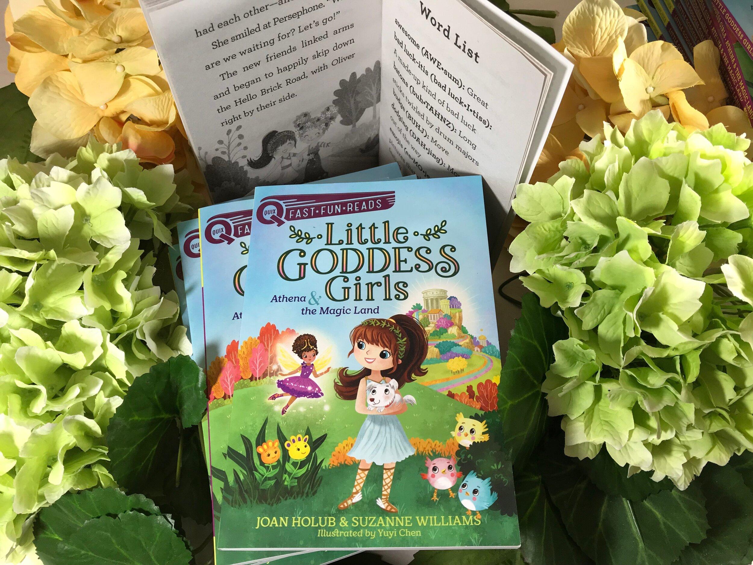 Little Goddess Girls book series, ages 5-8