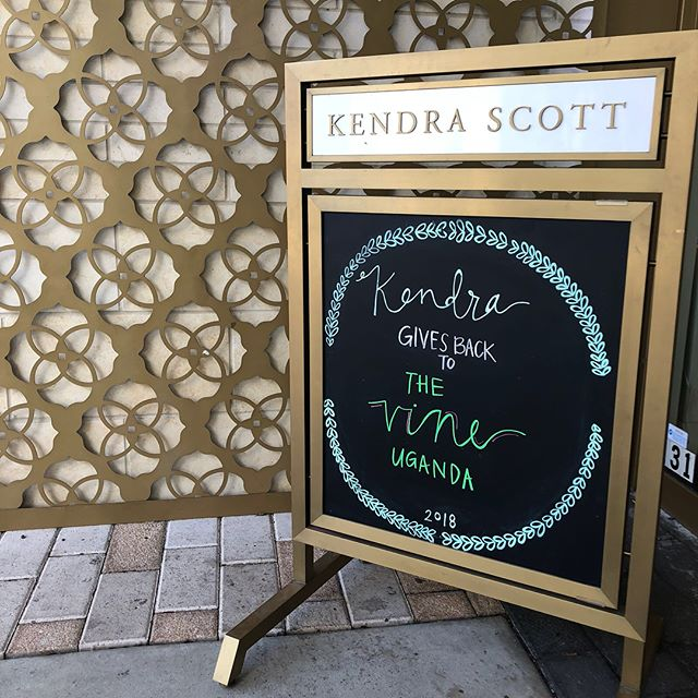 A huge thank you to everyone who came out or called in to purchase Kendra Scott's products that also supported The Vine Uganda! It was a successful night and we are so thankful for your generosity and support!! Thank you so much friends and family of The Vine 💛💛