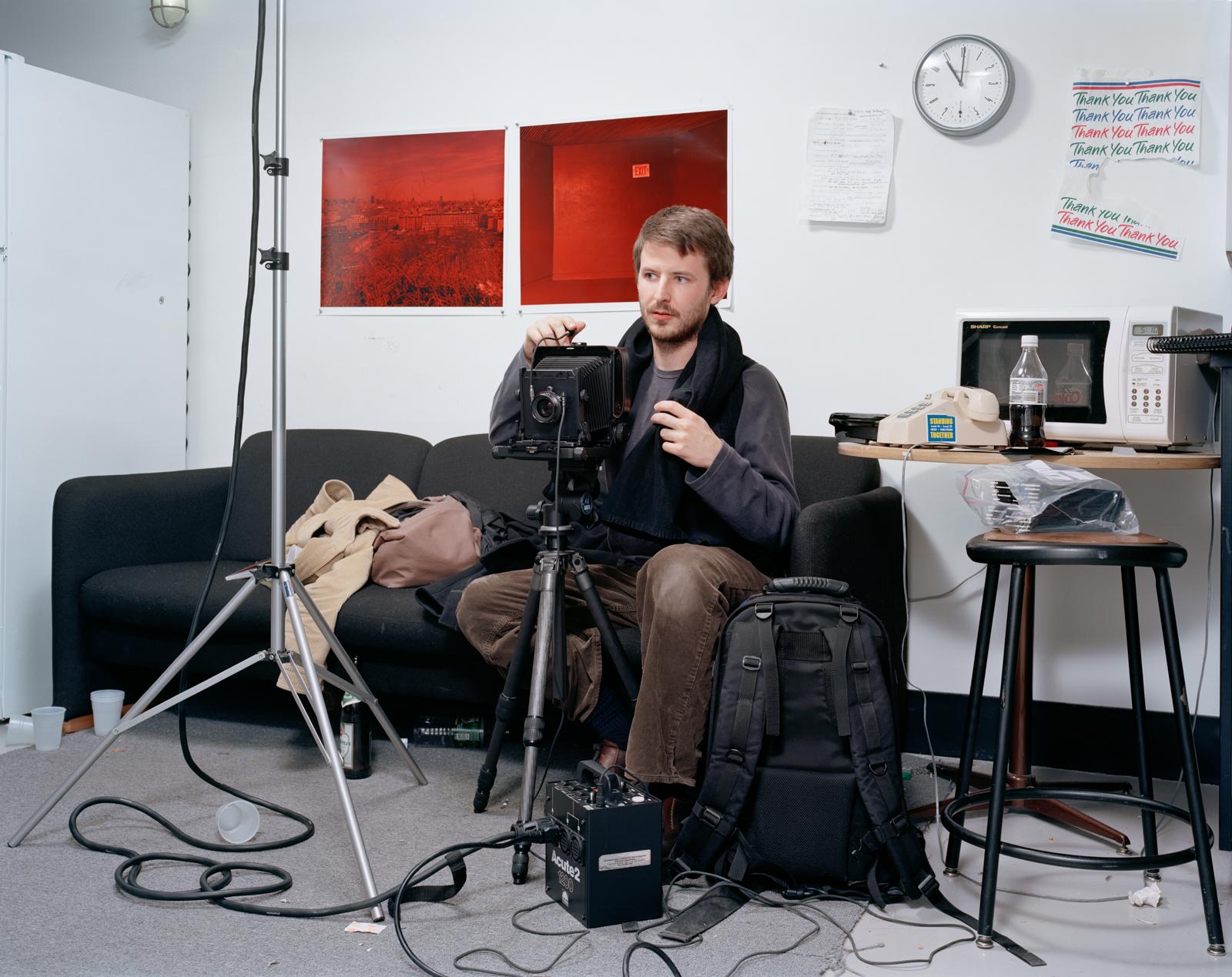 Self Portrait from the series Art School © Matthew Monteith/Esto