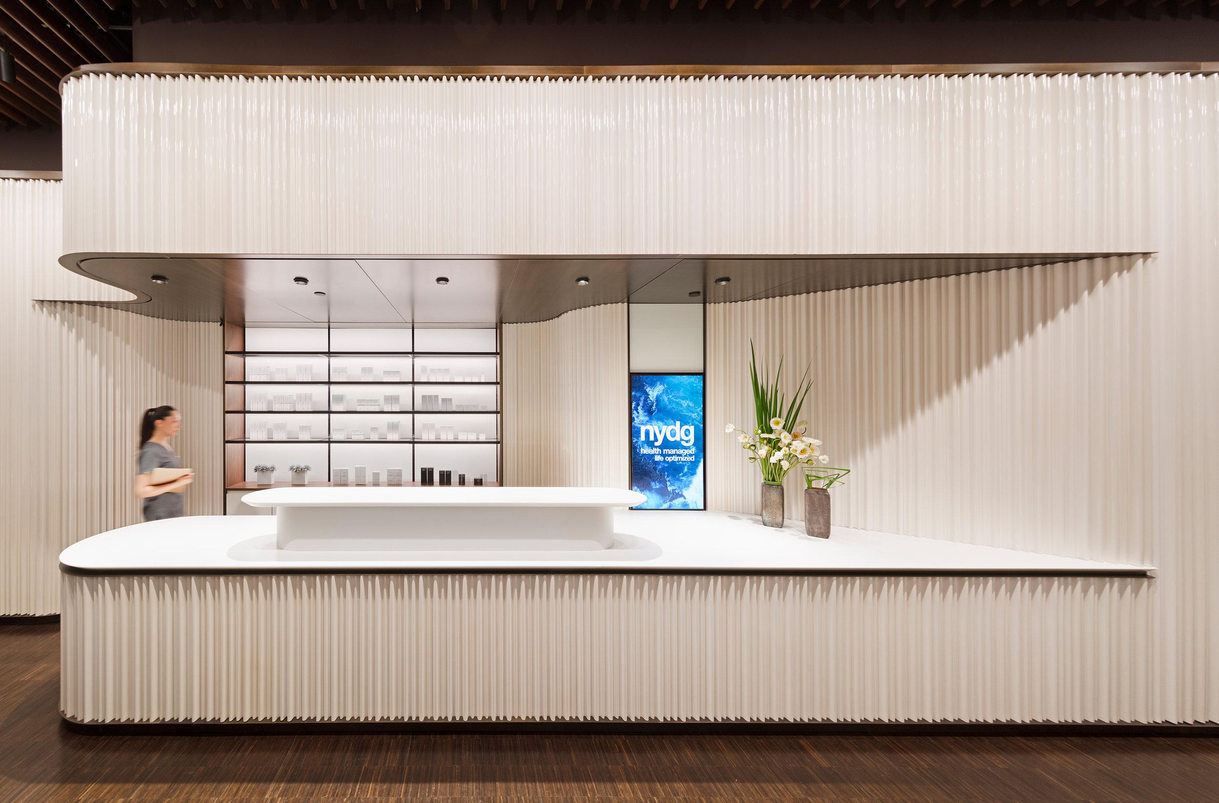 © Albert Vecerka/Esto.New York Dermatology Group, New York NY for Brandon Haw Architecture.