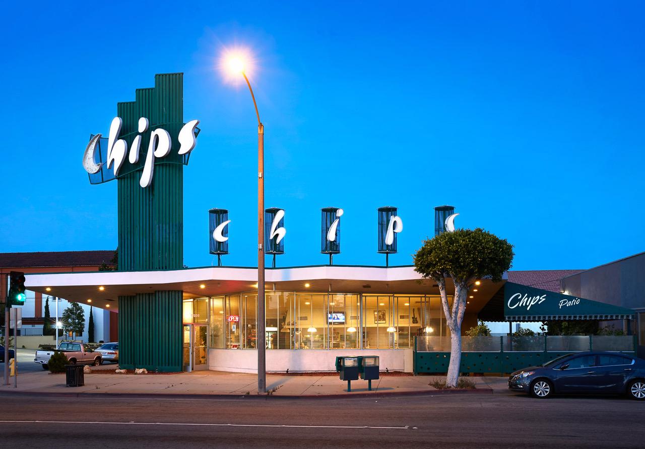 © Ashok Sinha/Esto, Chips, Los Angeles Chips, built 1957, Harry Harrison, Architect