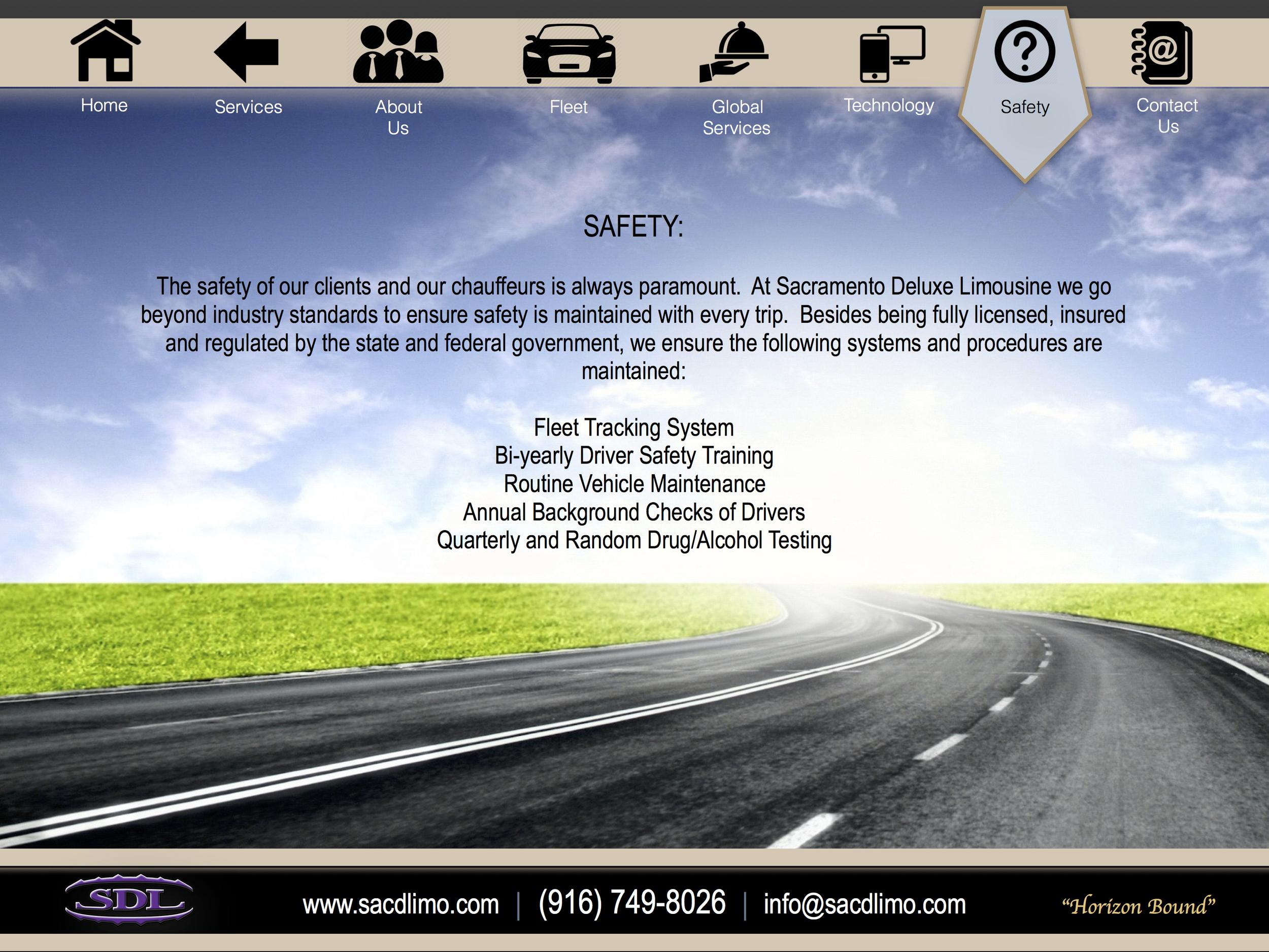 Sacramento Deluxe Limousine Safety.jpg