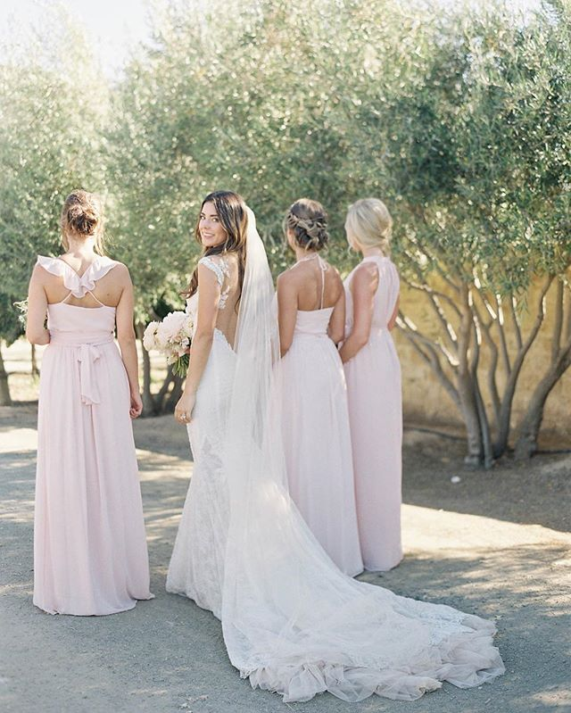 Aren't they lovely? Photography: @jenhuangphoto  Bride's Gown: @galialahav  Event Design: @davia_lee  Vendor: @sunstonewinery  Floral Design: @camelliafloraldesign  Makeup: @nicole_teamhairandmakeup  Hair: Emma w/ TEAM using  @thmhairextensions