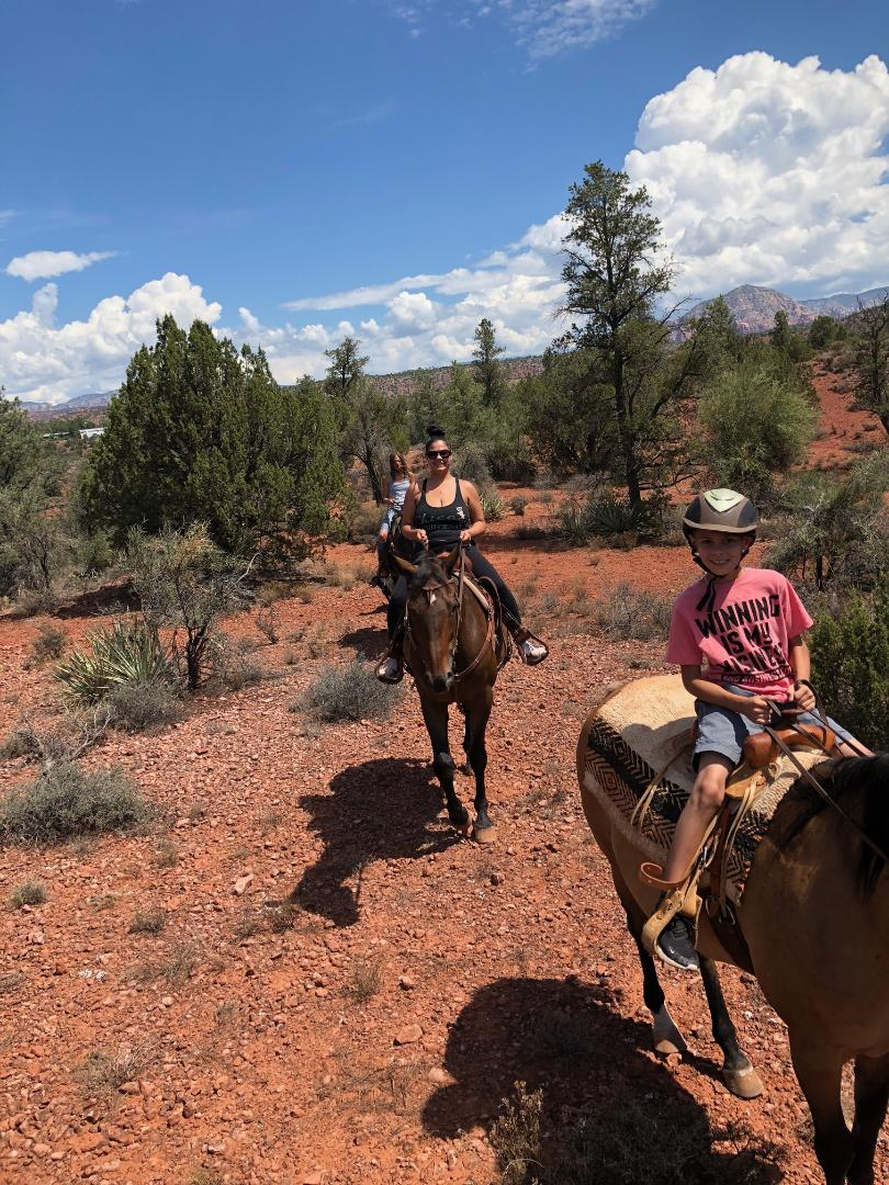 Horseback Riding - Meaghan offers riding her horses in the beauty of Sedona!Cost per ride:$99/hour/person