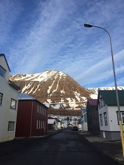 Ari Thor's street. Photo by Ragnar Jónasson