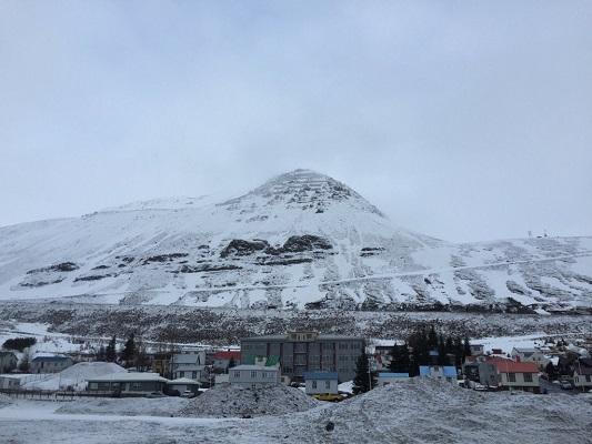 Siglufjordur mountains - photo by Ragnar Jónasson