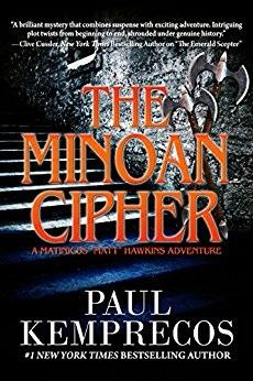 thrillerfest the minoan cipher.jpg