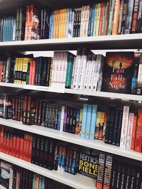 Chapters Indigo shelves.JPG