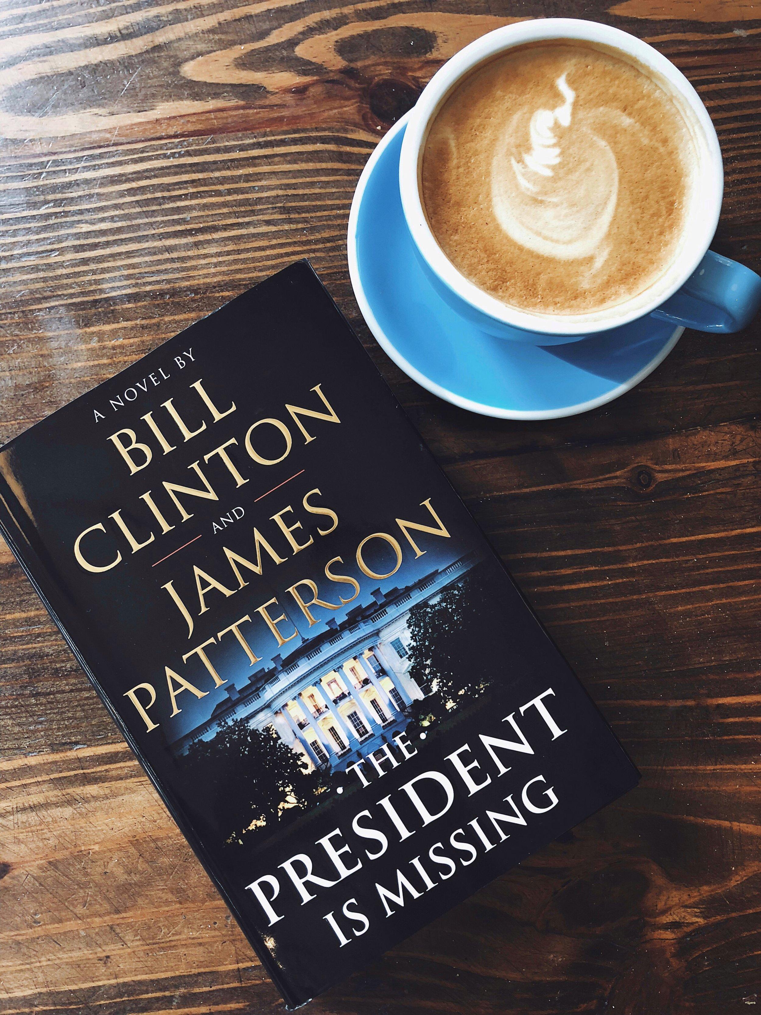 The President is Missing Book.JPG