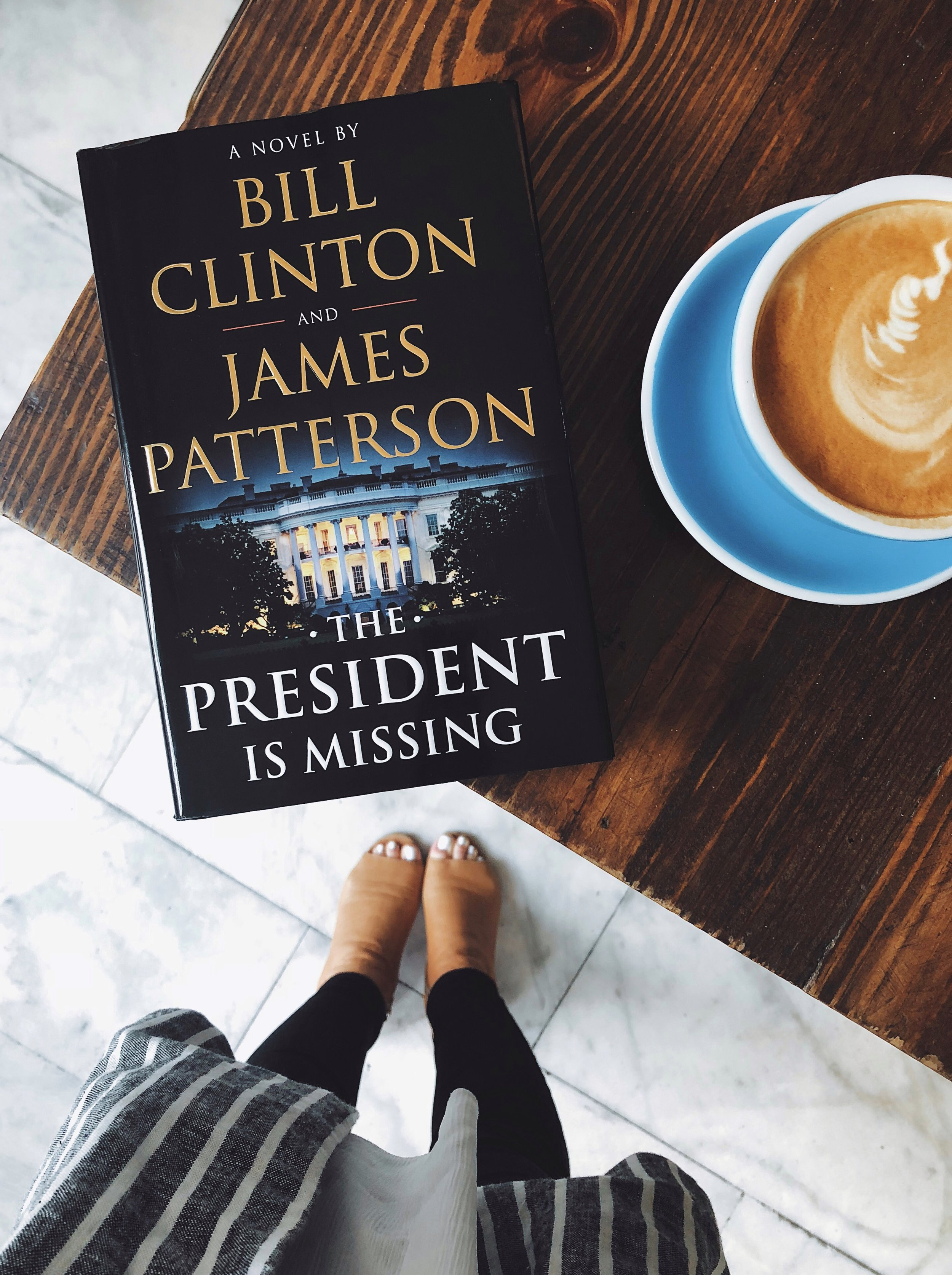 The President is Missing Clinton Patterson.JPG