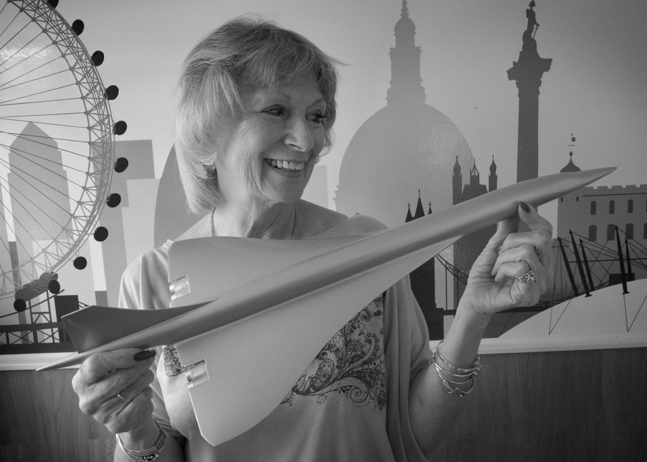 Carol Cornwell - Concorde cabin crew