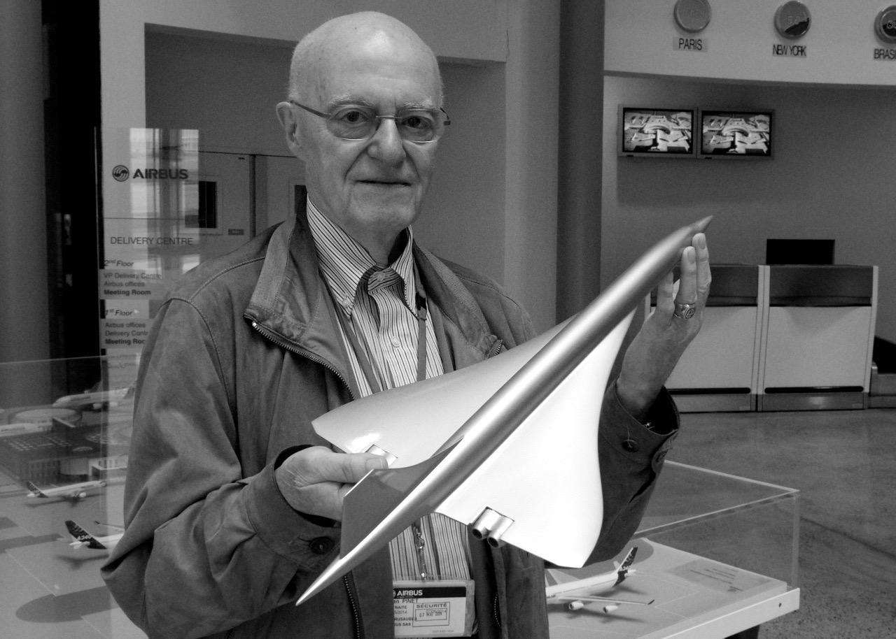 Jean Pinet - Concorde test pilot