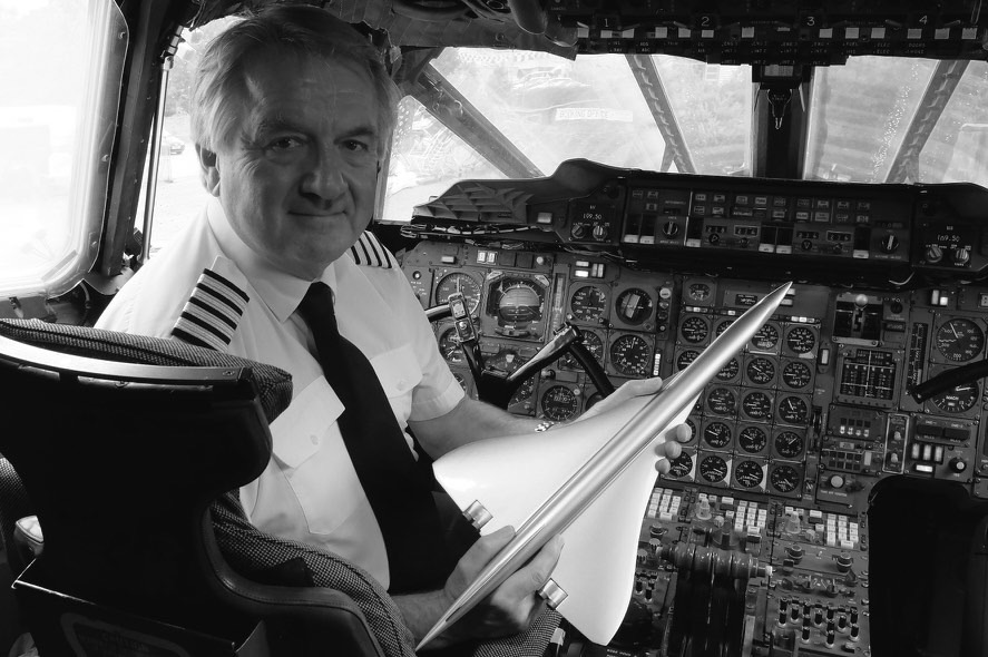 Mike Bannister - Concorde captain