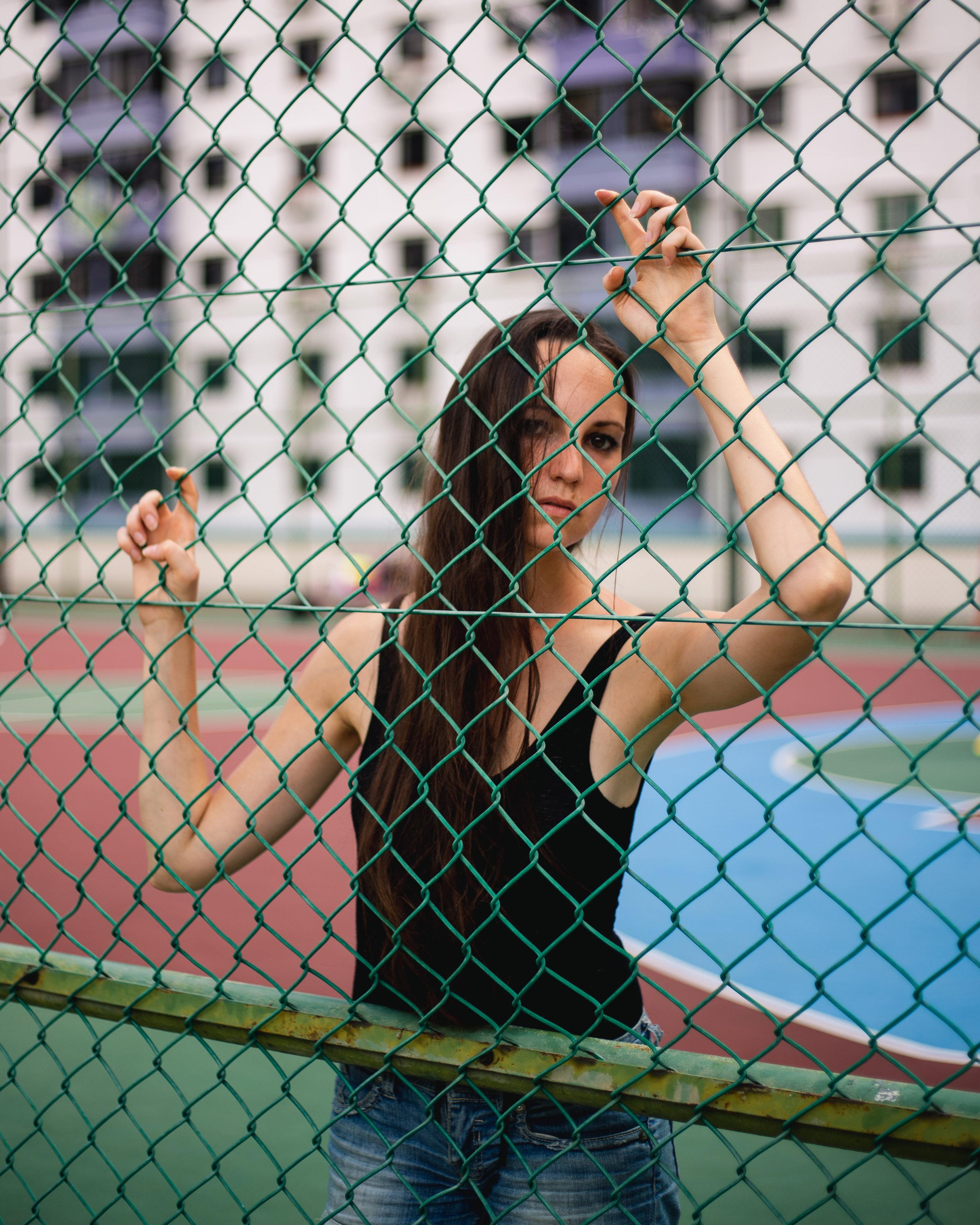 Manuela Casual Outdoor Shoot
