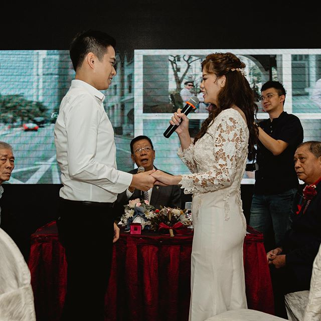 Congratulation on tying the knot!🤵🏻👰🏻 . . . . . #SnaptProductions #LoveAlways #BetterTogether #TogetherForever #GladToBeYours #PerfectPair #ItWasAlwaysYou #ItsALoveStory