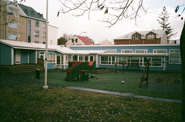 Schoolyard. Shot on my 1980s Canon Sure Shot. Fujifilm Superia 200 stock, expired 2017.
