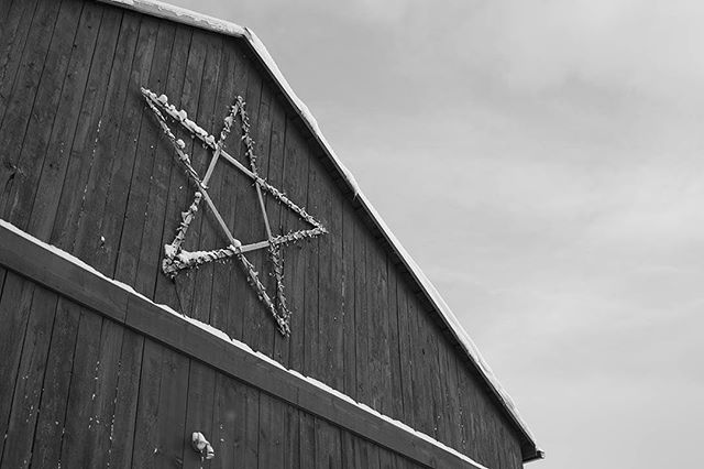 Barn Star. Shot on my Canon 60D with the Pentax 28mm f/2.8.