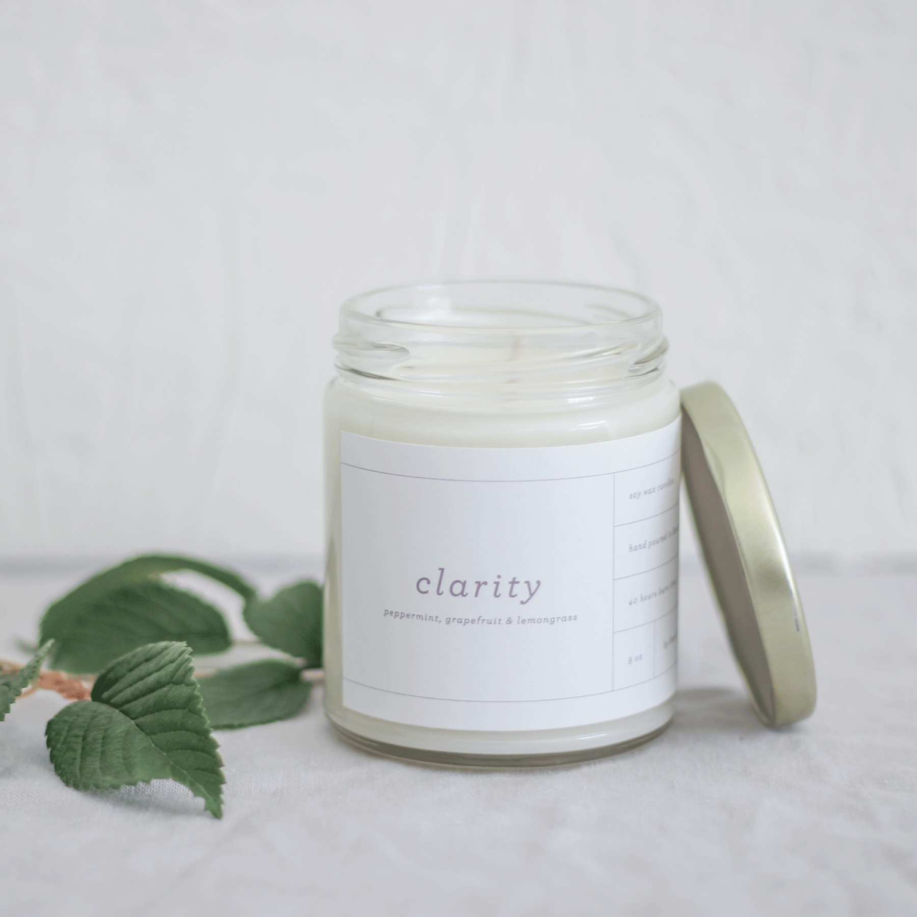 Clarity Candle by State & Story Mornings Squamish