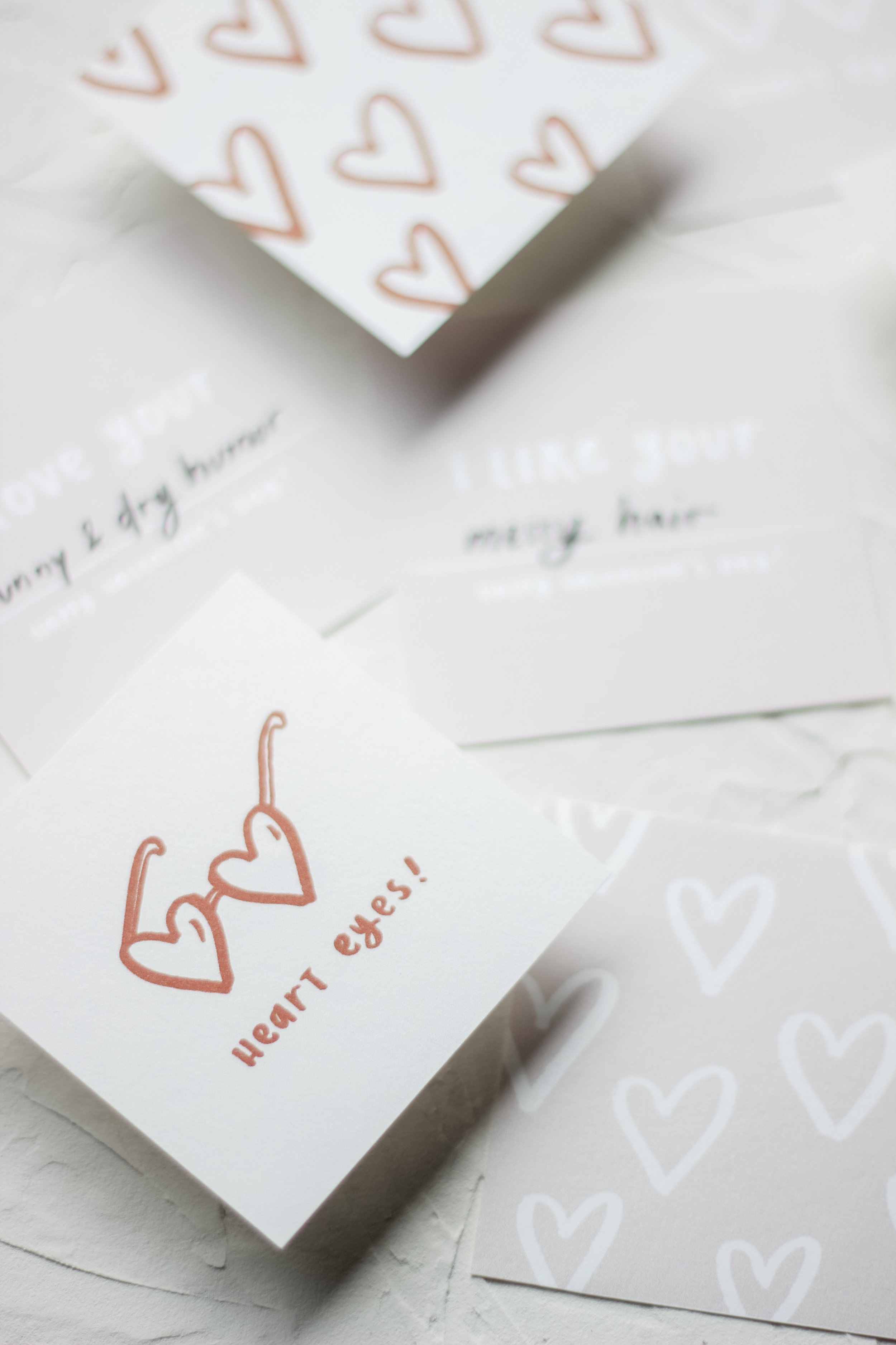 Oh The Sweet Things - February Little Love Card Printables