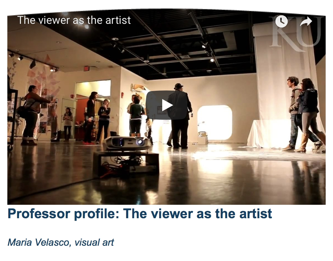 - The Viewer As The Artist