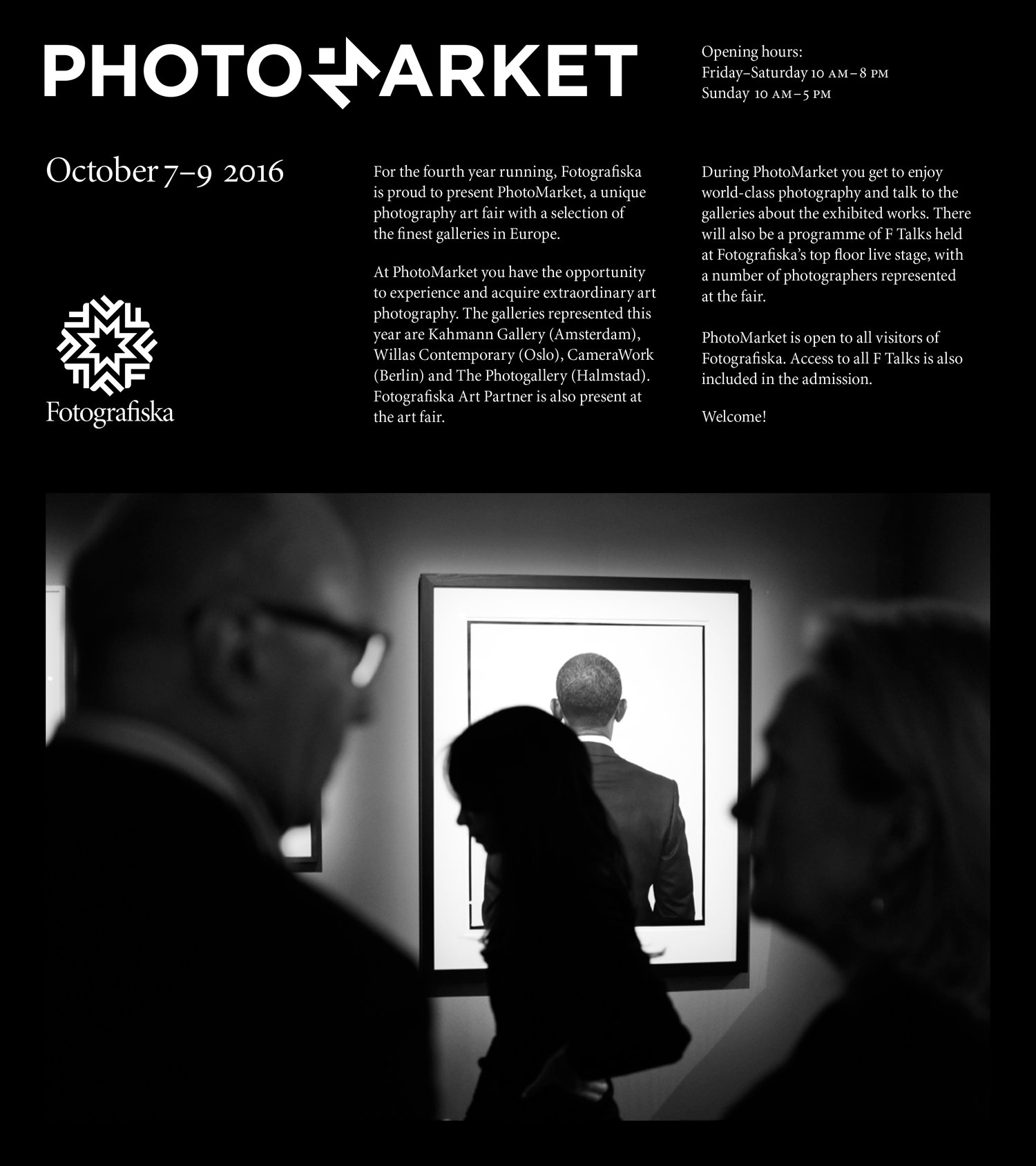PhotoMarket at Fotografiska