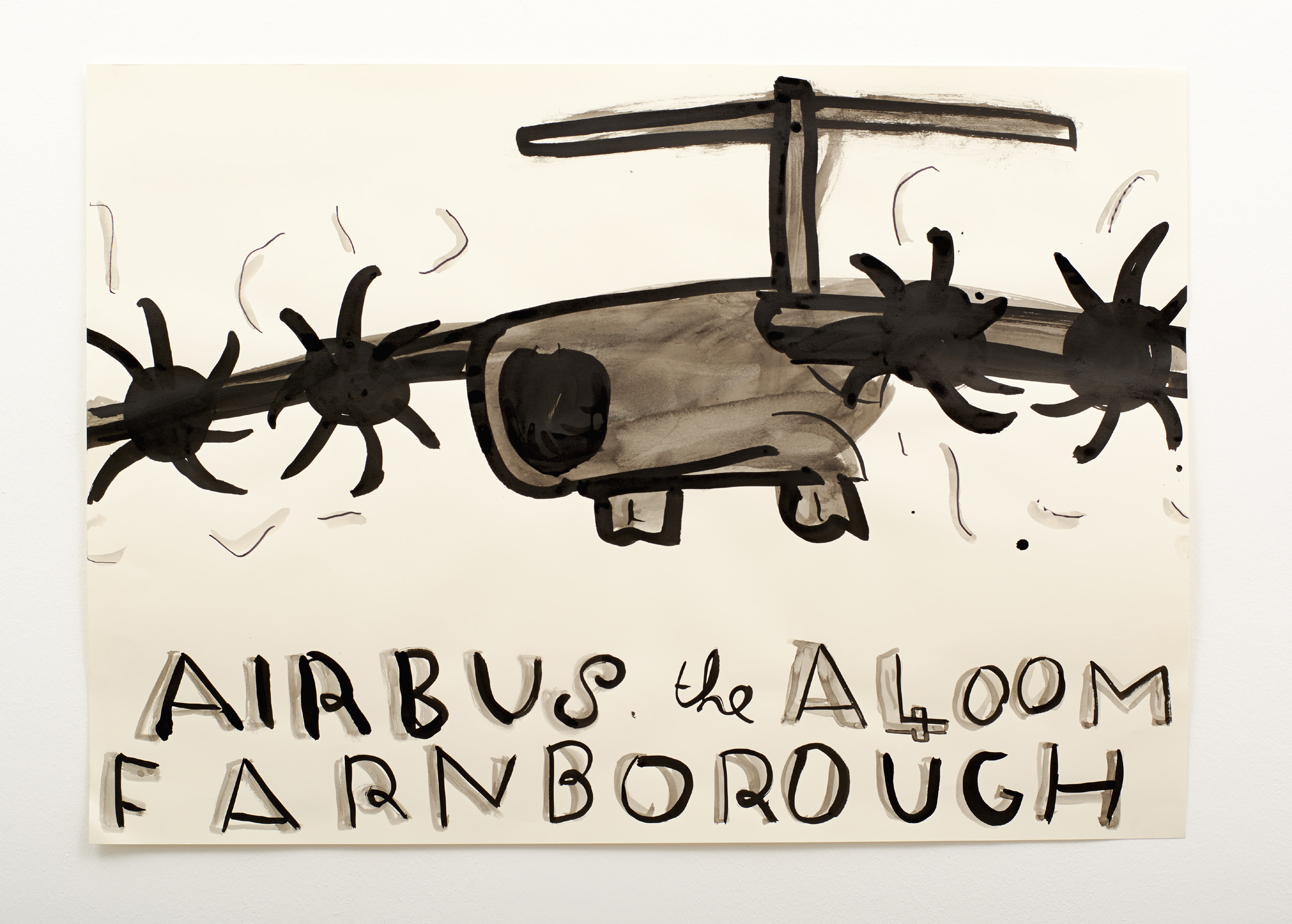Rose Wylie - Airbus 2014