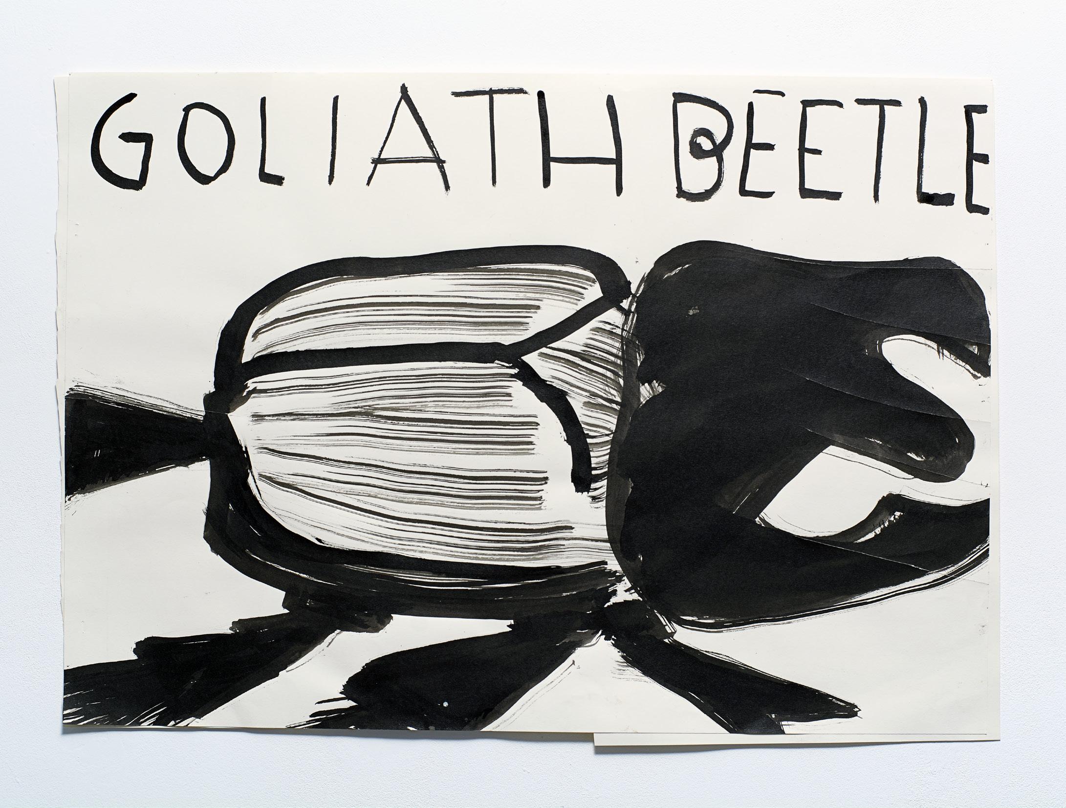 Rose Wylie - Goliath