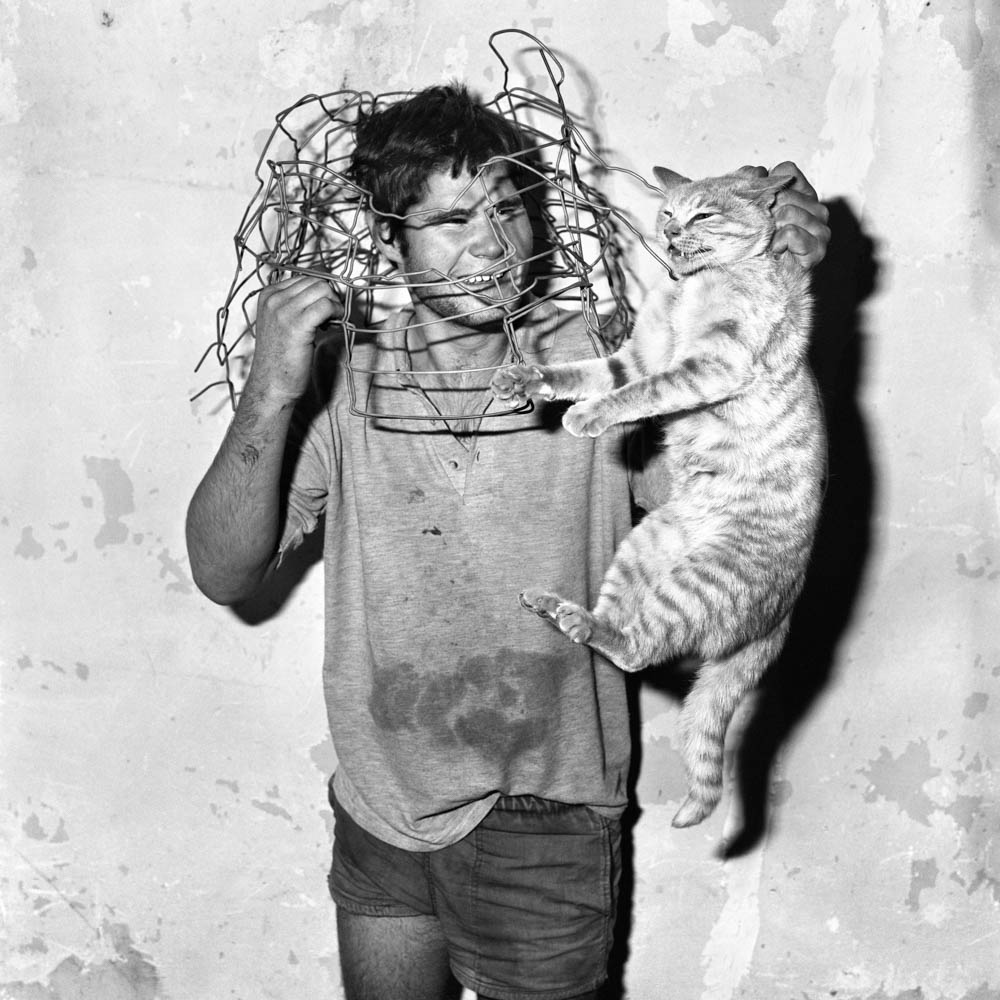 Roger Ballen - Cat Catcher, 1998
