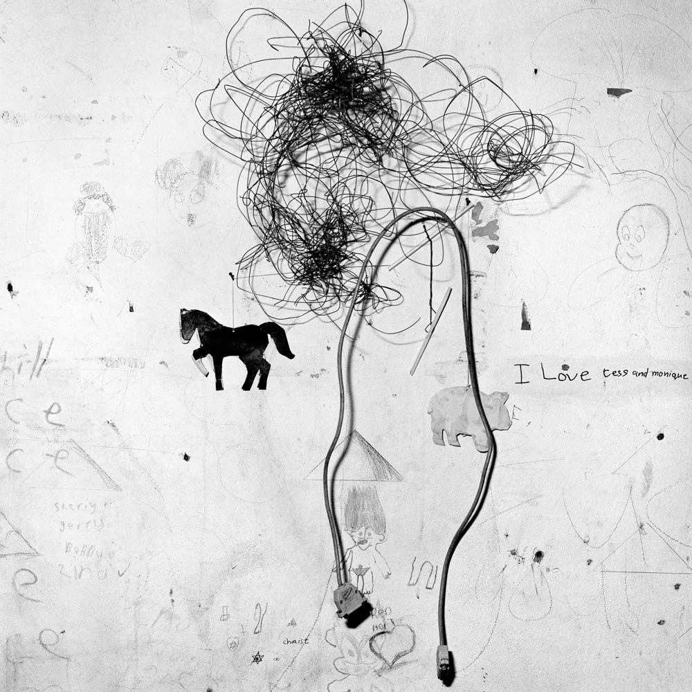 Roger Ballen - Children's Bedroom Wall, 2000
