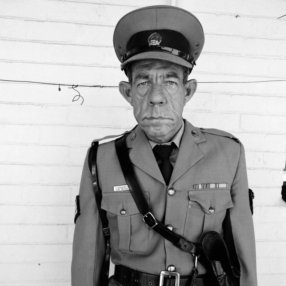 Roger Ballen - Sergeant F de Bruin, Dept of Prisons Employee, Orange Free State - 1992