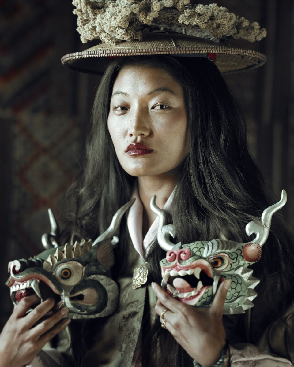 Jimmy Nelson - XXIX 2  Sonam, Gantey, Bhutan, 2016