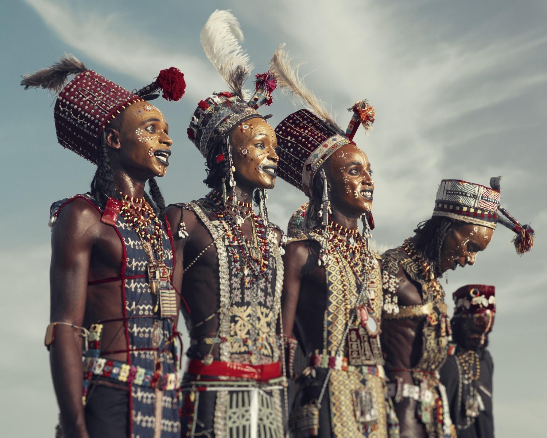 Jimmy Nelson - XXVIII 2  Wodaabe, Gerewol,  Chad 2016
