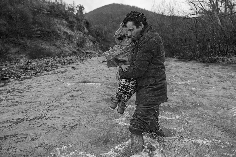 James Nachtwey - Macedonia 2016