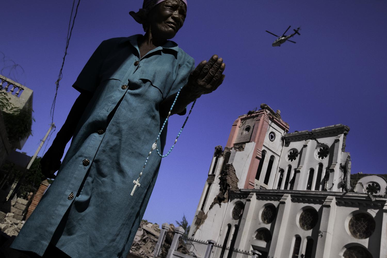 James Nachtwey - Port au Prince, Haiti, 2010