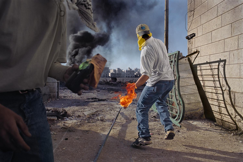 James Nachtwey - Ramallah, West Bank 2000