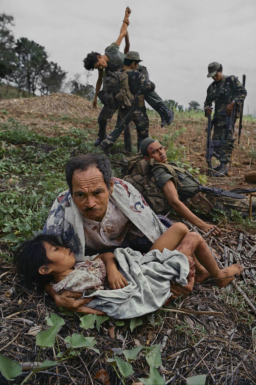James Nachtwey, San Miguel Province, El Salvador 1984.