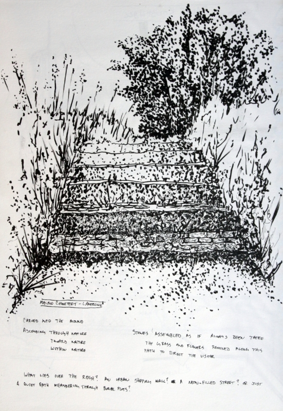 149_ink sketch8_Malmo cemetary - Lewerentz.jpg