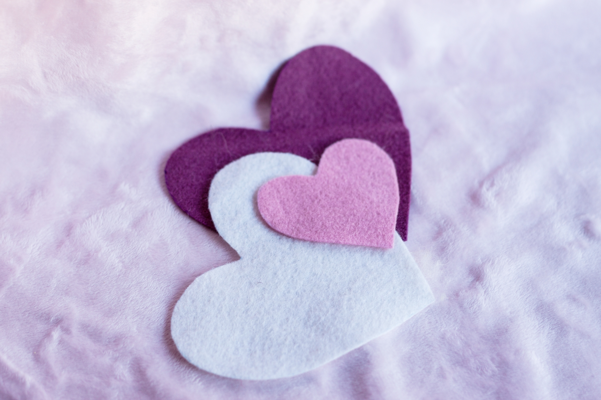 Sew Felt Hearts with Children by Forest Fairy Crafts