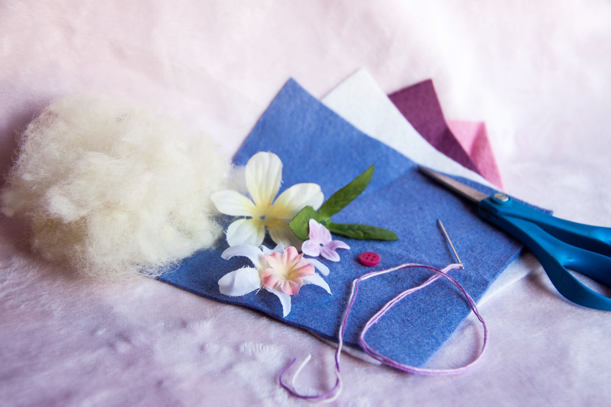 Tutorial to Sew Felt Hearts with Children by Forest Fairy Crafts