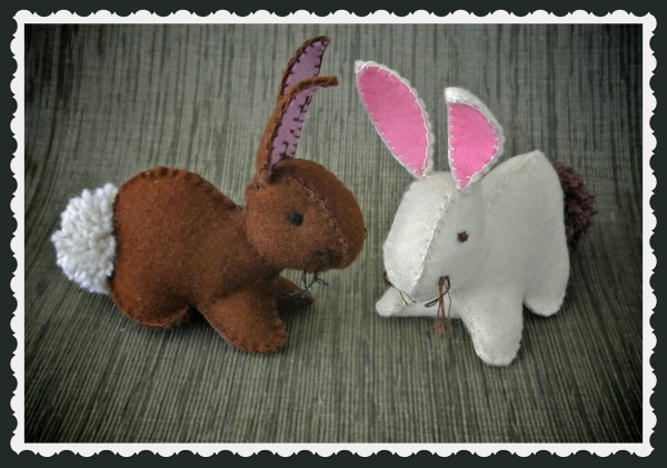 Felt Bunnies by Creativity in Pieces