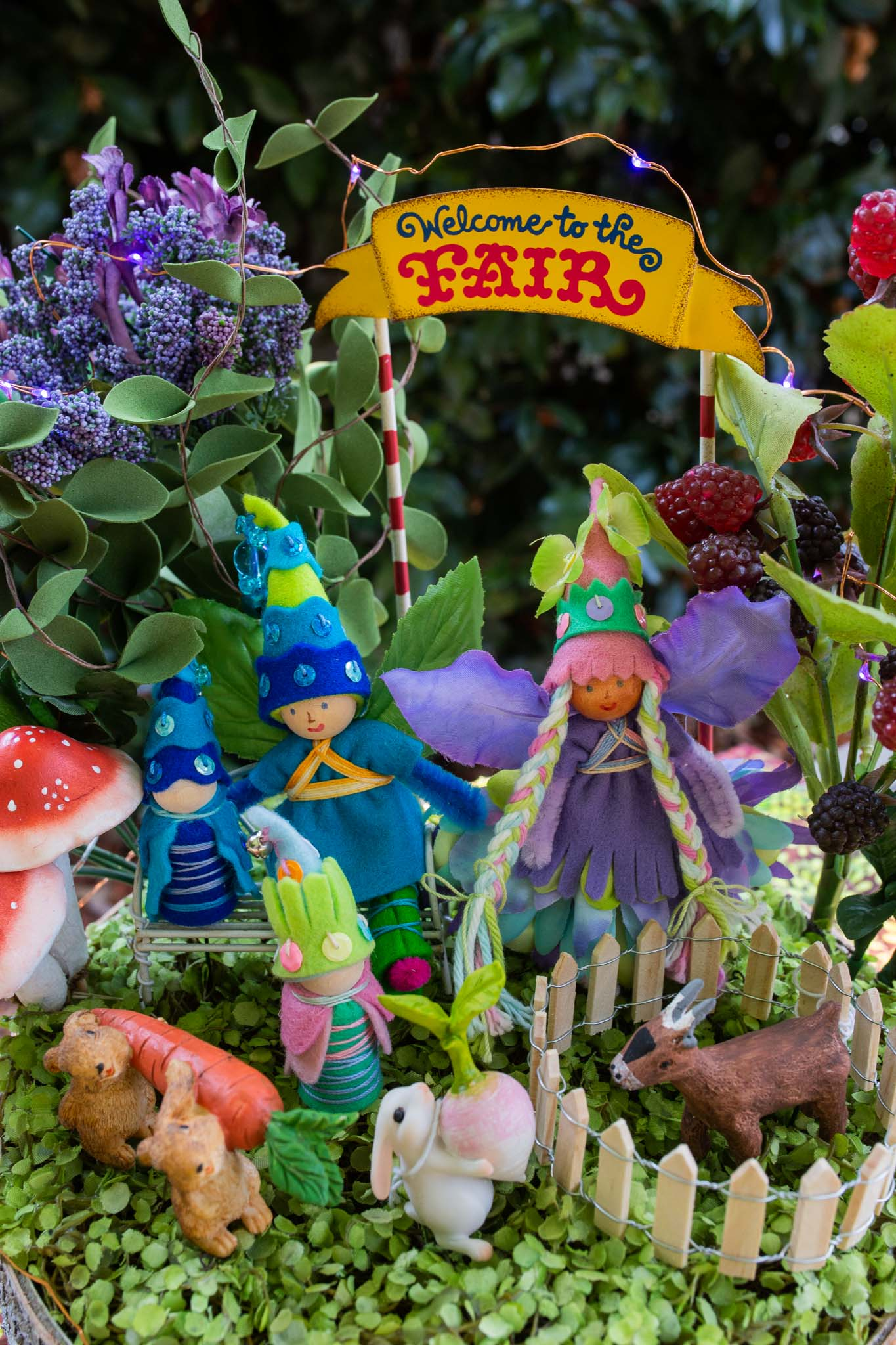Fairy Garden at the Fair | Forest Fairy Crafts with Anika and Lenka