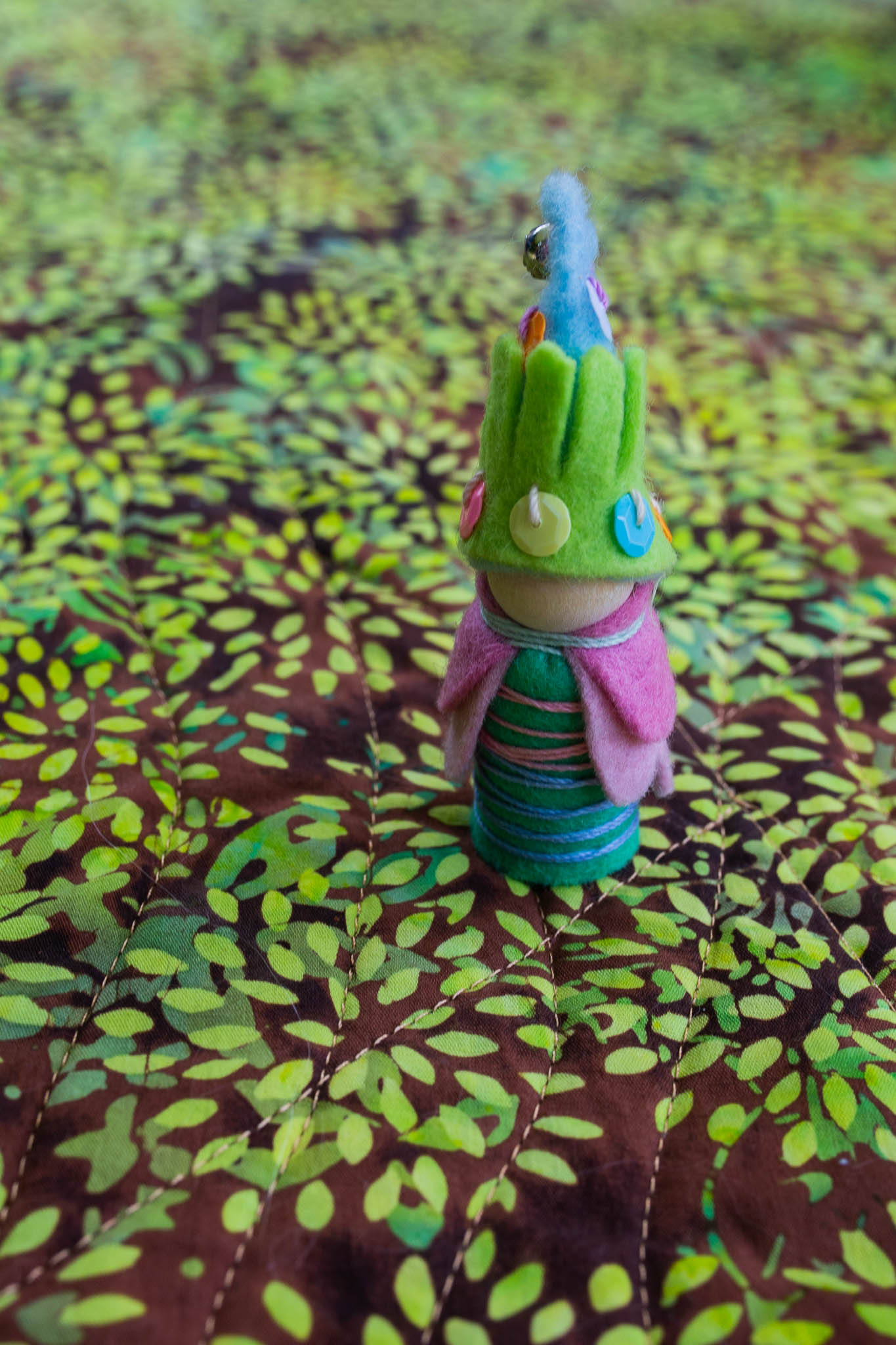 Gnome Peg Person | Forest Fairy Crafts with Anika and Lenka