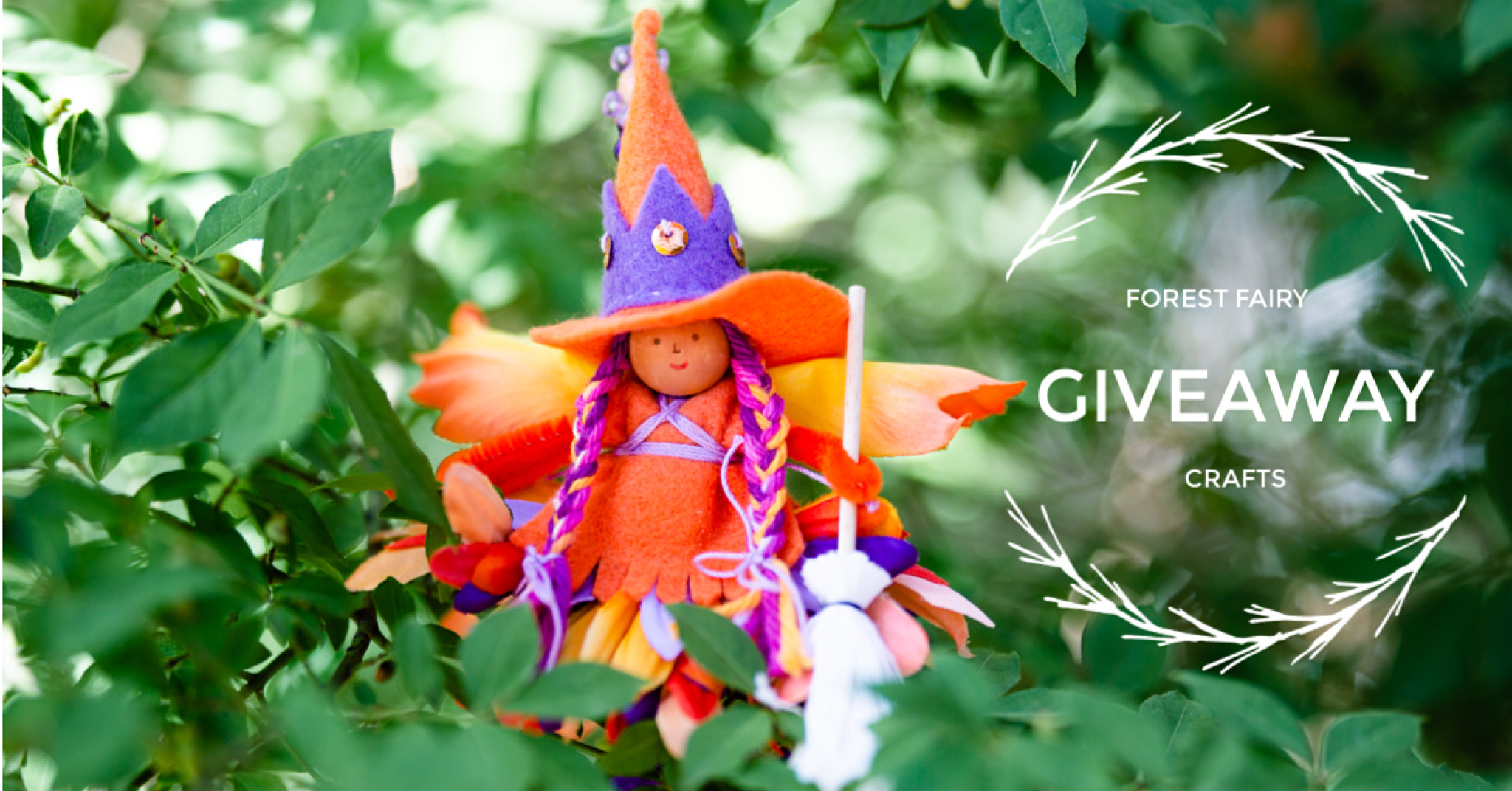 Forest Fairy Crafts Witch | Fairy doll made by Lenka Vodicka