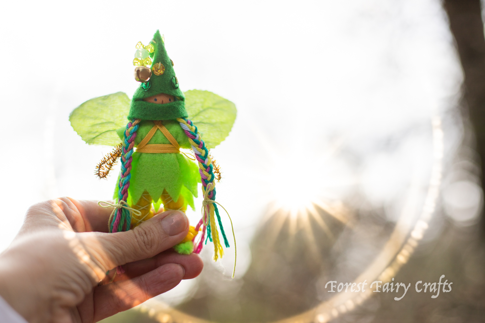 Leprechaun Ninja from Forest Fairy Crafts by Lenka Vodicka-Paredes and Asia Currie
