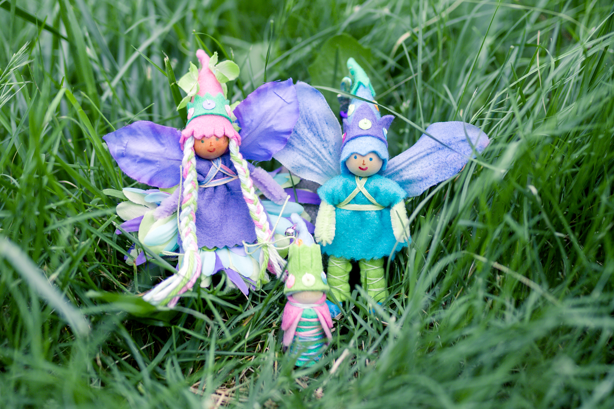 Forest Fairy Crafts in Spring | Fairy Dolls for Children