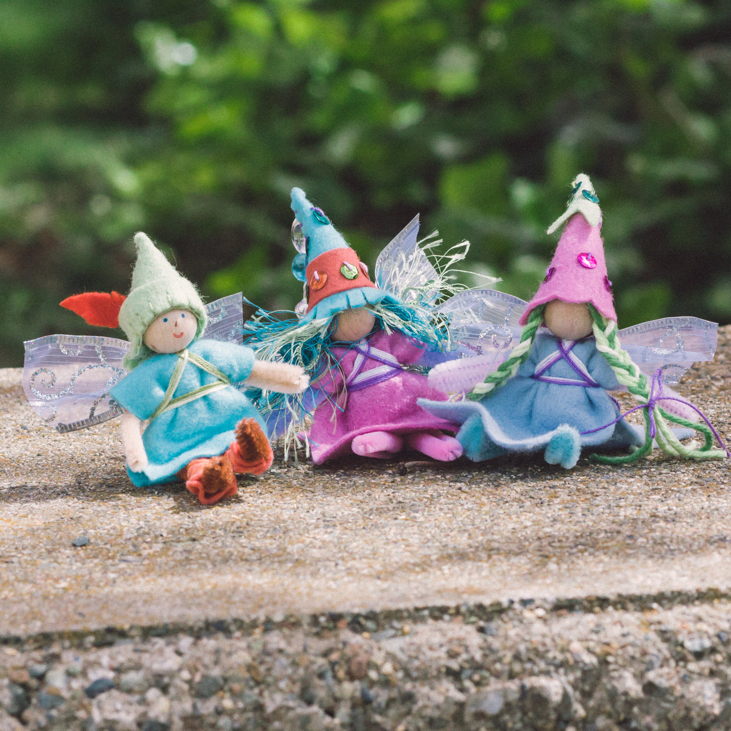 Forest Fairy Crafts in Spring