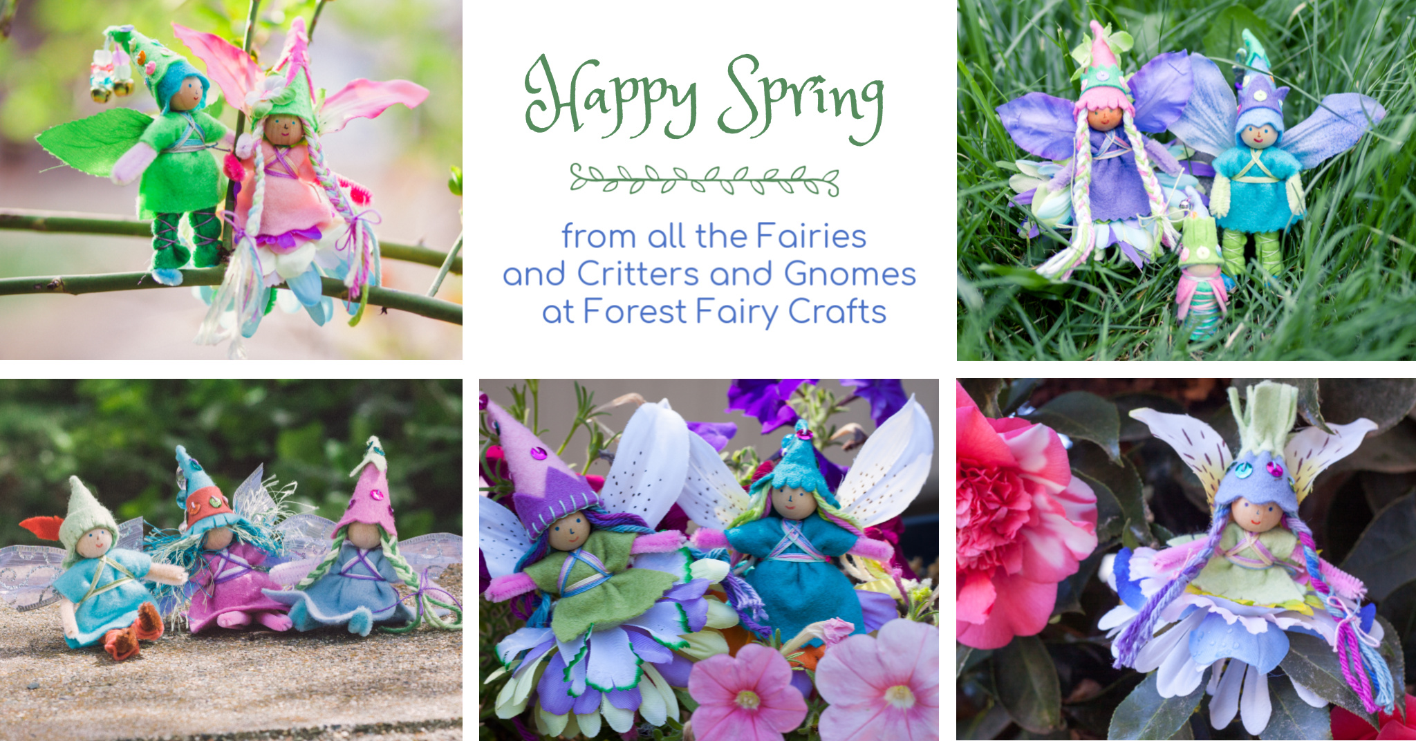 Happy Spring from Forest Fairy Crafts