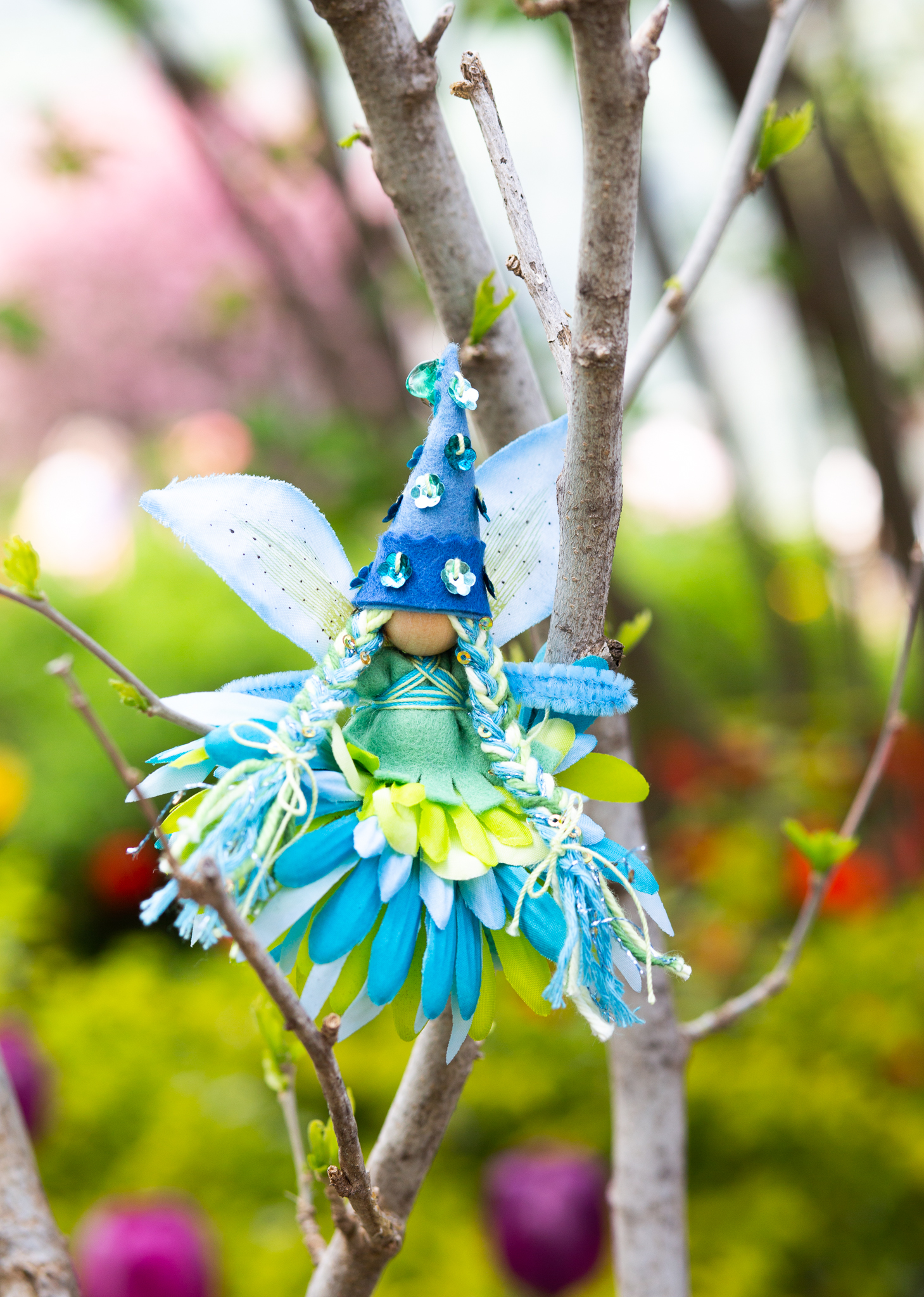 Earth Day Fairy by Forest Fairy Crafts | Lenka Vodicka-Paredes and Asia Currie